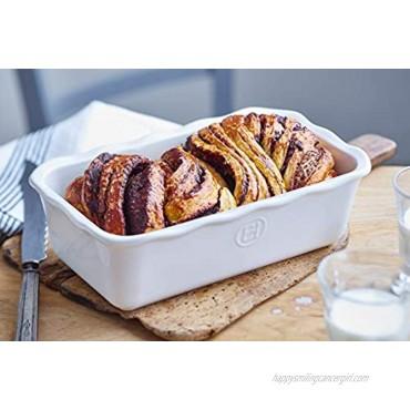 Emile Henry Sugar Modern Classic Loaf Pan 3qt