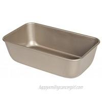 Glad Premium Nonstick Baking Pan – Professional Bakeware Whitford Gold Dishwasher Safe 9.5 x 5.6 Inches