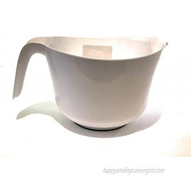 Cooking Concepts White Mixing Bowl White 2 Quarts