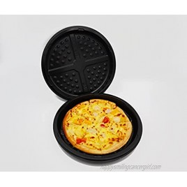 Pack of 15 Disposable CPET Plastic 8 inches oven baking Pizza Pans Durable Tray for Pizza Cookies Cake Bread Focaccia Meat Baking Pans Tray Easy Clean Oven Freezer Microwave and Dishwasher Safe