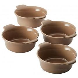 Anolon Vesta Ceramics Ramekin Set 4-Piece Umber