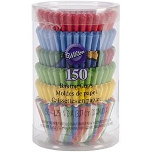 Wilton Primary Baking Cups Mini 150-Count
