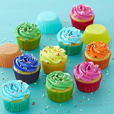 Wilton Rainbow Bright Standard Cupcake Liners 300-Count
