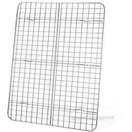 Cooling Rack Kmeivol Baking Rack Stainless Steel Wire Rack 11.5 x 15 inches Roasting Rack Oven and Dishwasher Safe Cooling Racks for Home Party Store Cooking Roasting Grilling