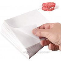 """[2000 Pack] 4.75x5"""" Hamburger Patty Parchment Paper Sheets Wax Coated Square Liners for Food Deli Meat Butcher and Cheese Press Restaurant Grade"""