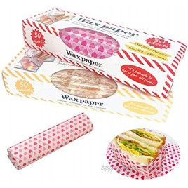 Sandwich Wrap Paper Wax Paper 100pcs Grease Proof Paper Waterproof Dry Hamburger Paper Picnic Paper Liners Wrapping Tissue