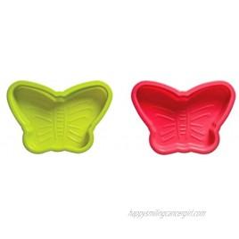 Premier Housewares 804982 Butterfly Cake Moulds Set of 2 H4 x W19 x D14cm