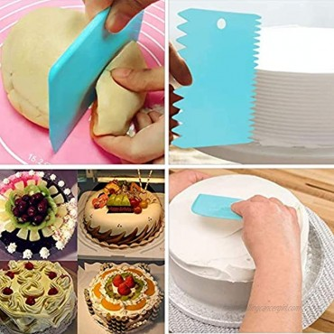 78 Pack Cake Decorating Kit Supplies with Icing Tips Pastry Bags Piping Nozzles with number tip for Cake Decoration Baking Tools