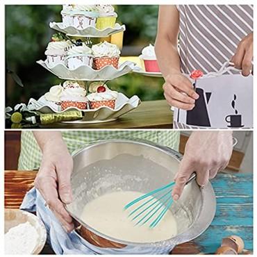 Cake Decorating Kit 220pcs,Baking Tools Set for Cakes,Cake Rotating Turntable 48Piping Icing Tips 7 Russian Nozzles,Sugar Melting Tool,Cake Baking Supplies