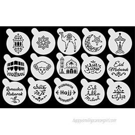 Eid & Ramadan Small Stencils Set 15