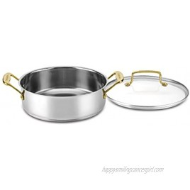 Cuisinart Mineral Collection Casserole with Cover Medium Stainless Steel