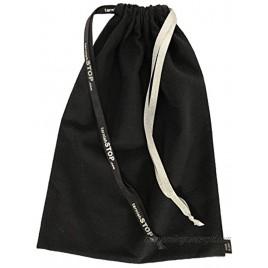 tarnishSTOP Luxury Anti-Tarnish Cloth Bag for Silver Storage Silverplate Sterling Jewelry Flatware Holloware Black 13x10. Made in USA