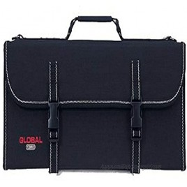 Global G-667 16 Knife Case with Handle and 16 Pockets