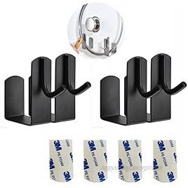 4 Pcs Pot Lid Holder with Hook Stainless Steel Wall Mounted 3M Self Adhesive Pot Lid Organizer Rack Kitchen shelf RackBlack