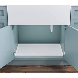 Basin Premium Silicone Under Sink Mat Holds Over 1.5 Gallons Large Silicone Waterproof Mat Kitchen Cabinet liner Under Sink Tray For Drips Leaks Spills Easy to Clean