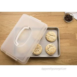 USA Pan Bakeware Nonstick Jelly Roll Pan with Lid